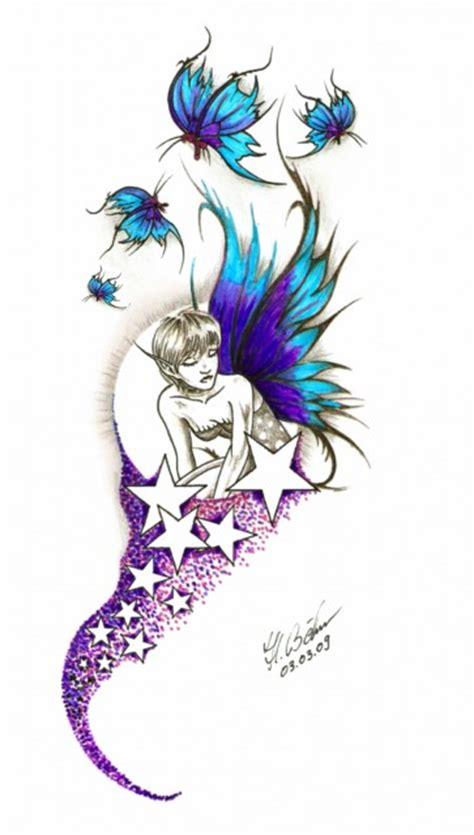 tattoovorlagen schmetterling und sterne tattoos zum stichwort elfen bewertung de lass deine tattoos bewerten