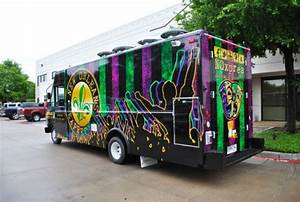 Employment Request New Orleans Express Ford Food Truck Wrap Car Wrap City