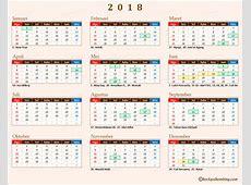 Kalender 2018 Indonesia dan Libur Nasional Chocky Sihombing