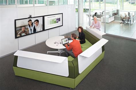 steelcase bureau media scape av wall unites from steelcase architonic
