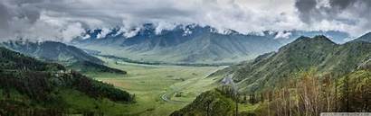 Mountains Russia Dual Altai Wide 4k Monitor
