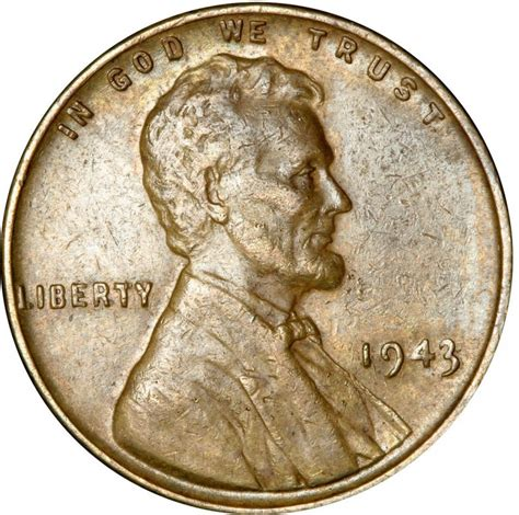 valuable wheat pennies 1943 lincoln wheat pennies values and prices past sales coinvalues com
