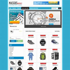 masgus market shopping cart free blogger template With shopping cart template for blogger