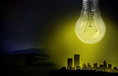 of light light pollution green