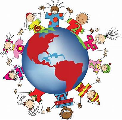 International Clip Cliparts Clipart Children National Attribution