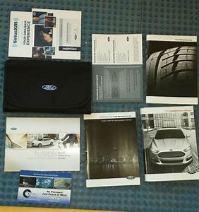 13 2013 Ford Fusion Owners Manual With Navigation  Sync