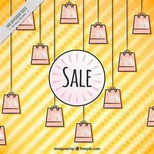 Sale bags background Vector | Free Download