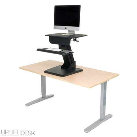 uplift standing desk converter shop uplift height adjustable standing desk converters