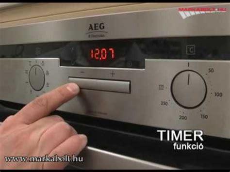 Aeg B 44035 M Sütő Márkabolt Youtube