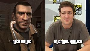 Characters and Voice Actors - Grand Theft Auto IV - YouTube