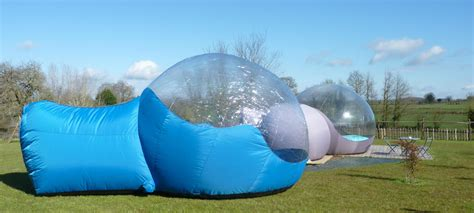 chambre d hote haute loire bulle transparente les bulles d 39 o nuit insolite