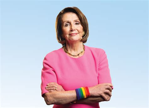 nancy pelosi honored  pushing  repeal dont  don