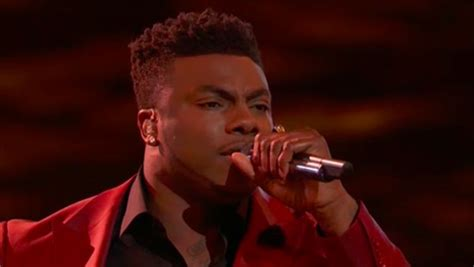 kirk jay live kirk jay sings quot i m already there quot on the voice top 13