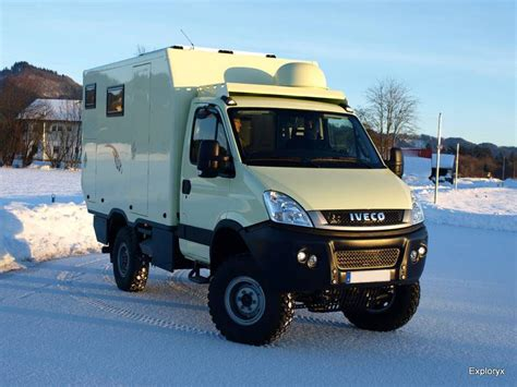Iveco Daily 4x4 Expeditionsmobil mit perman. Allradantrieb