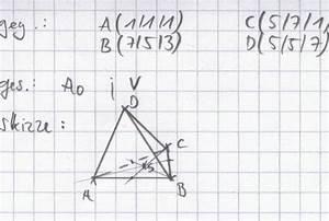 Volumenschwerpunkt Berechnen : volumen k rper im 3d koordinatensystem onlinemathe ~ Themetempest.com Abrechnung