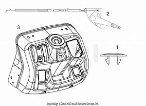 Troy Bilt 13wn77bs011 Pony  2017  Parts Diagram For Dash