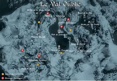 Skyrim Dawnguard Elder Soluce Scrolls Carte Cartographie