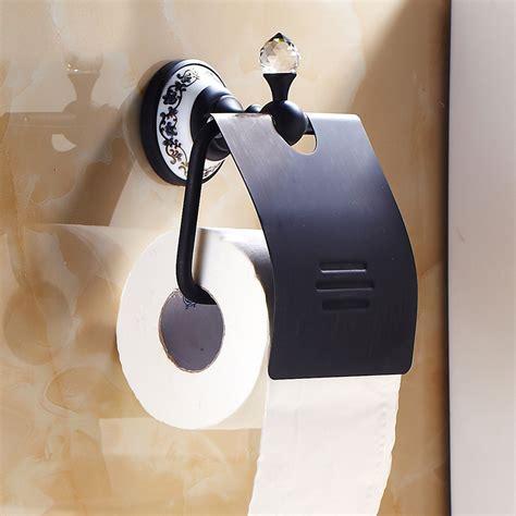 wc rollenhalter antik messing orb bad accessoires mit