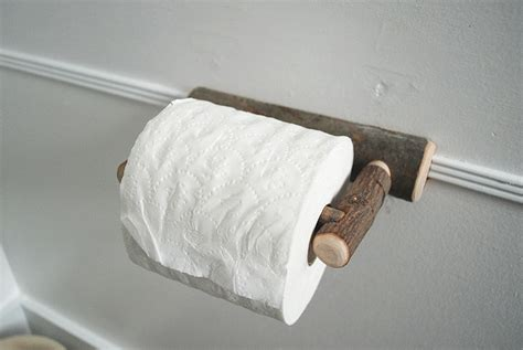 rustic toilet paper holder merry home tour the merrythought Rustic Toilet Paper Holder