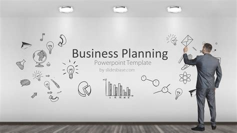 business planning powerpoint template slidesbase