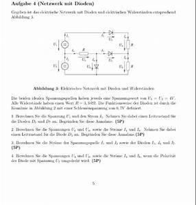 Gemischte Schaltung Berechnen : diodenschaltung berechnen mathelounge ~ Themetempest.com Abrechnung