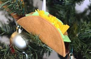Christmas Tree Pattern Tutorial Felt Taco Christmas Ornament Sewing