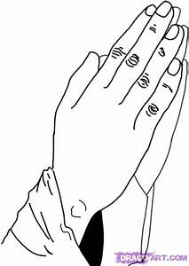 How To Draw Praying Hands Easy