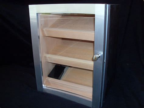 Hand Made Cabinet Humidor by Puddle Town Woodworking
