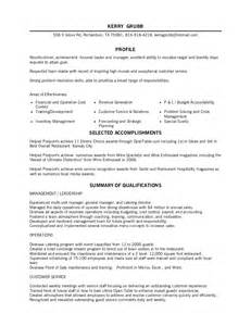 restaurant server resume food service server resume