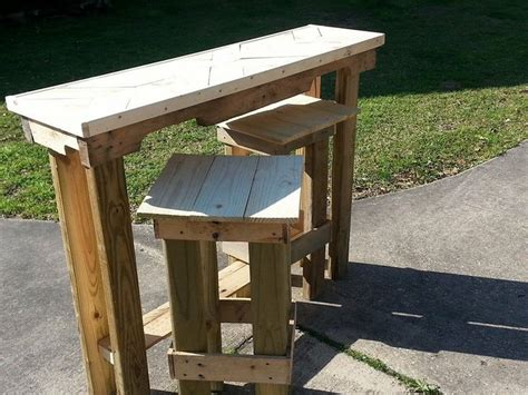 outdoor bar stools  table set woodworking projects