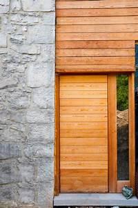 porte entree maison bois porteentree ide dco entre With porte de garage de plus porte entree bois