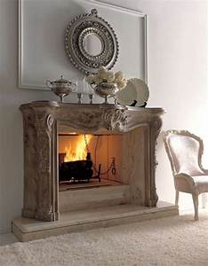 Classic fireplace decor idea iroonie
