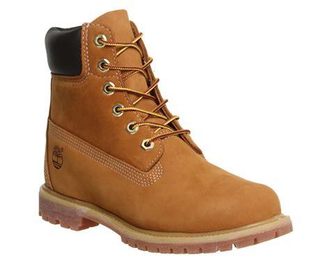 Timberland Premium 6 Boots Wheat Nubuck