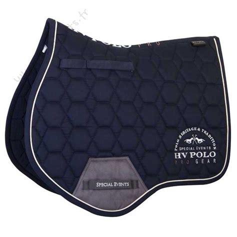 tapis de selle hv polo pro maroon pour cheval