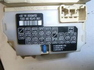 Fuse Box For Suzuki Swift