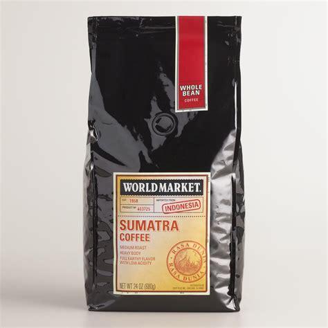 24oz World Market® Sumatra Coffee, Set Of 3  World Market