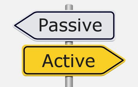 Are You Passive Or Active?  Key Steps Corporate Trainingkey Steps Corporate Training