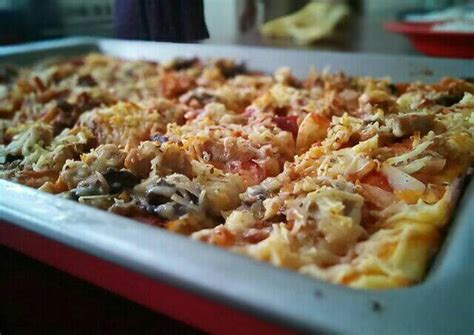 Free delivery, salads, заказать онлайн, pizza, pitsa, delivery, доставка, pitsa. Resep Pizza Empuk oleh Dini Saraswati - Cookpad