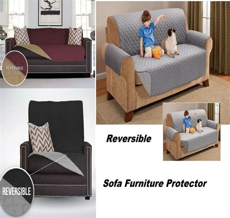 Throws For Chairs And Settees by Reversible Furniture Throw Quilted Sofa Chair Settee Pet