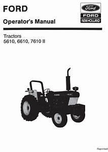 Ford 5610 6610 7610 Ii Tractor Manual Pdf 9 99  U2013 Farm Manuals Free