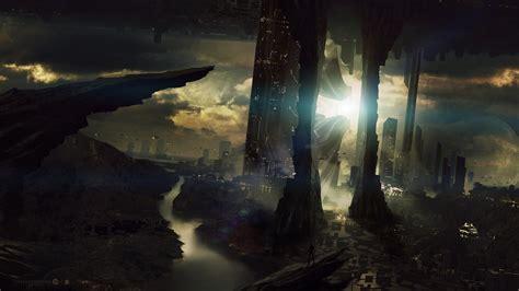 artwork, Fantasy Art, City, Futuristic Wallpapers HD ...