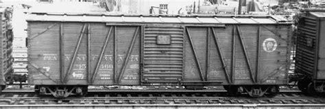 steam era freight cars prr  box cars
