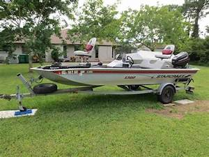 1997 Starcraft Starcaster 1700 Bass Boat  40 Hp Motor With