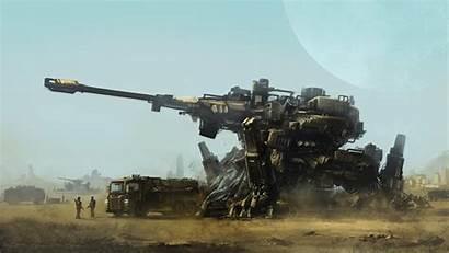 Concept Tank Wallpapers Mech Futuristic War Army