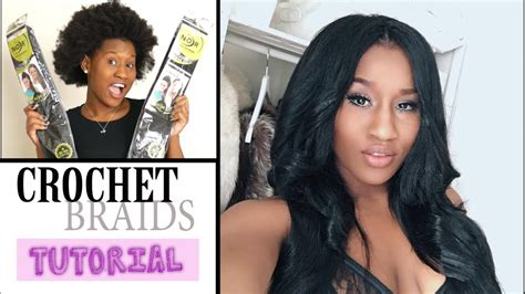 Say What?? 😱😱 No Leave Out Crochet Braids Tutorial