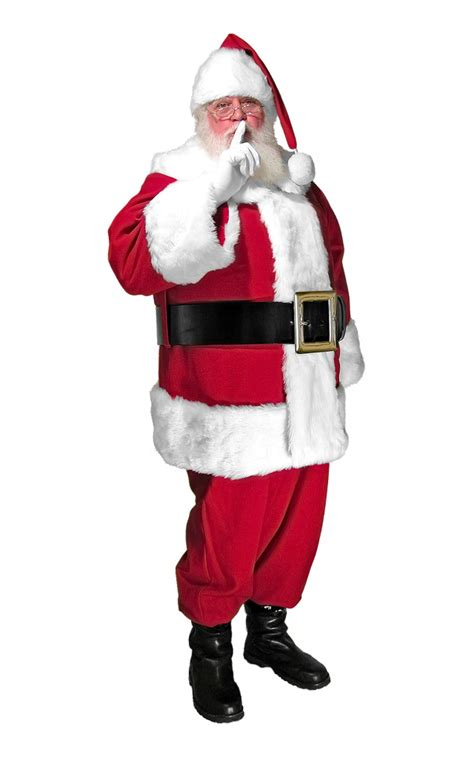 deluxe mall professional santa suit santa supply online