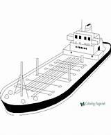 Coloring Boat Ship Pearl Fishing Printable Pirate Cargo Cartoon Sheets Catamaran Simple Coloringfolder Cool Open Sea sketch template