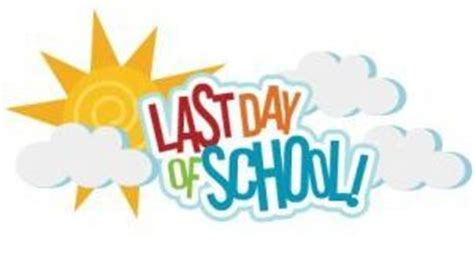Last Day Of School Clipart Last Day Of School Clipart Www Pixshark Images