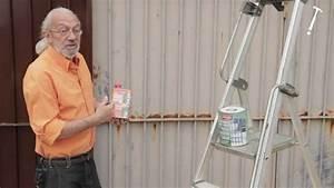 renover un portail rouille tuto bricolage de robert pour With peindre une grille en fer