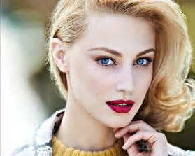 Beautiful Girls with Blue Eyes